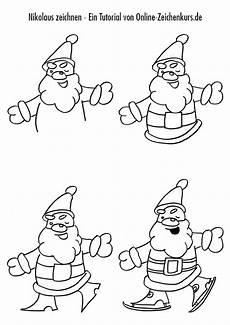 weihnachtliche motive zeichnen zeichentutorials f 252 r