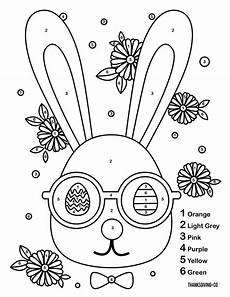 color by number easter coloring sheets 18104 3 color by number easter printables to keep your entertained