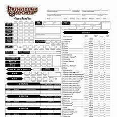 pathfinder society character sheet character sheet pdf docdroid