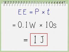 5 formas de calcular joules wikihow