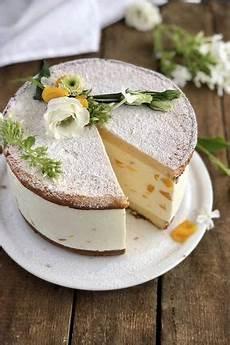 käsesahnetorte rezept klassisch klassische k 228 se sahne torte mit pfirsichen kochen k 228 se