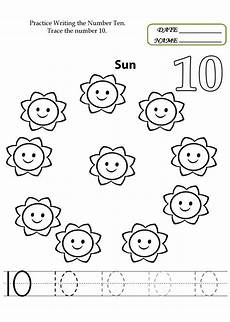 number 10 worksheets to print pre k worksheets preschool worksheets preschool number worksheets