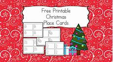 free printable christmas place cards have the kids help