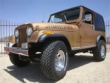 1982 Jeep CJ7 Jamboree Edition 30th Anniversary CJ 7 W/ AC