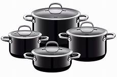 wmf silit 8 cookware set black made in