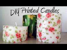 decoupage candele diy tutorial decorate candles with paper napkins