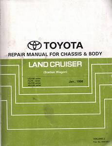 online service manuals 1996 toyota land cruiser transmission control toyota landcruiser uzj100 fzj10 hzj105 hdj100 chassis body genuine repair manual used sagin