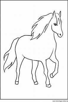 Einfache Malvorlage Pferd Bastelvorlage Pferd Sieben Einfache Aber Rachman