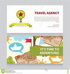 travel agency business card design template design template for travel agency business card stock