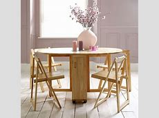 Choose a Folding Dining Table for a Small Space ? Adorable