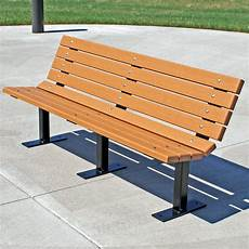 jayhawk plastics contour recycled plastic commercial park bench outdoor benches at hayneedle