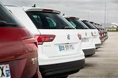 volkswagen tiguan les prix des moteurs d entr 233 e de gamme