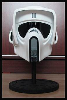 wars scout trooper motorcycle helmet fan made scout trooper helmets