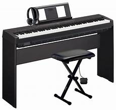 yamaha p 45 digital piano deluxe pack includes p 45 piano