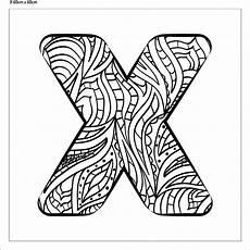 Buchstaben Malvorlagen Xyz Buchstabe Quot X Quot Zum Ausmalen Fertig Aufgespannt Canvasi