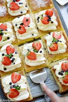 kuchen ideen kleiner einfache gelbe sahne dessert dessert ideen kuchen