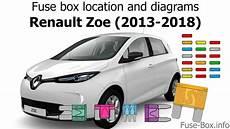 fuse box location and diagrams renault zoe 2013 2018