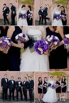 purple black white wedding april cochran smith cochran smith cochran smith uplinger this