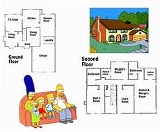 the simpsons house floor plan the simpsons house lost room benguild