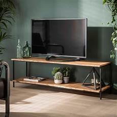 tv moebel vintage tv m 246 bel natural 150 cm lowboard massivholz metall