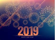 happy new year 2019 background with fireworks download free vector art stock graphics images