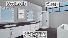 Bathroom Ideas Bloxburg by Aesthetic Cheap Bathroom 2k Sunexlovxly Roblox