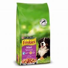 croquette chien friskies maxi croquettes pour chiens de grande race
