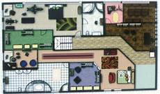 twilight cullen house floor plan cullen house 2nd floor by aramis arya on deviantart