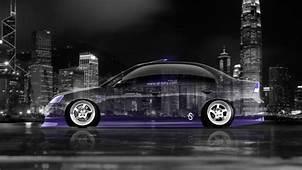 Tony Kokhan Honda Civic Jdm Crystal City Car Violet Neon