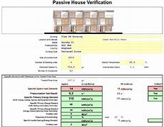 passive house planning package phpp verification