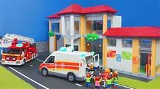 Playmobil Ausmalbilder Schule Playmobil Kinder Unfall In Der Schule
