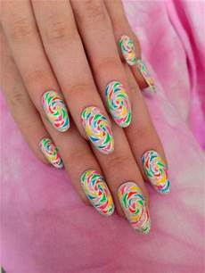 swirl nail art nail designs pinterest