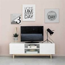 meuble tele scandinave maison du monde inspiration deco notre futur salon juste maudinette