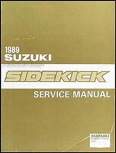 automotive repair manual 1989 suzuki sidekick free book repair manuals 1989 suzuki sidekick repair shop manual original