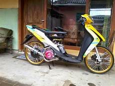 Suzuki Spin Modif by Modifikasi Motor Suzuki Spin 125 Drag Modifikasi Motor Matic