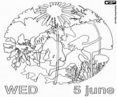 Malvorlagen Umwelt Gratis Ausmalbilder Logo Des Tages Der Umwelt Zum Ausdrucken
