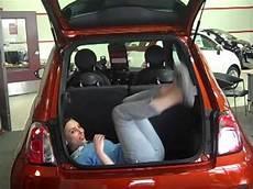 fiat 500 trunk space