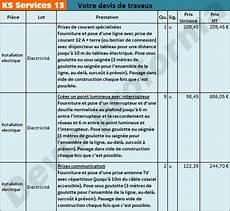 Ks Services 13 Co 251 T D Une R 233 Fection 233 Lectrique Et Devis
