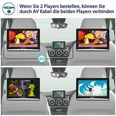 12 hd auto monitor kopfst 252 tze dvd player 1366 768 usb sd