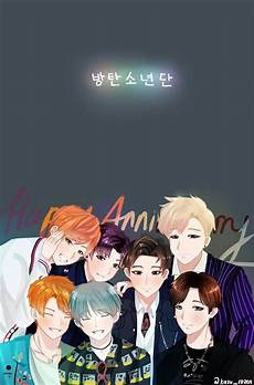 Bts Anime Wallpapers Top Free Bts Anime Backgrounds