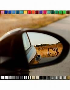 quot hello quot spiegel aufkleber autospiegel 48x35mm in