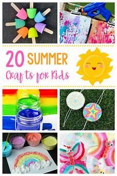 basteln sommer kinder 20 simple summer crafts for