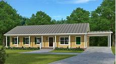 economical ranch house plan with carport 960025nck