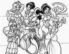 Malvorlagen Disney Disney Prinzessinnen Malvorlagen