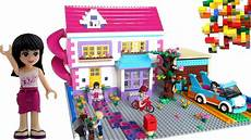 Malvorlagen Lego Friends House Lego Friends House With Slide By Brick