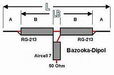 dc7hs on air bazooka die monobandantenne