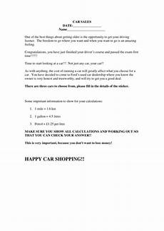 buying my first car percentage project worksheets by fordge10 teaching resources tes