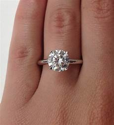 the about a 2 carat diamond engagement ring