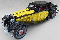 lego bugatti kaufen bugatti type 50 als lego technic modell gelber flitzer