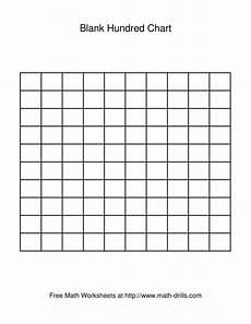 blank fraction worksheets 3866 blank hundred chart number sense worksheet